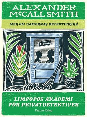 cover image of Limpopos akademi för privatdetektiver