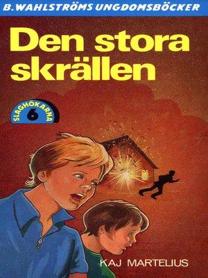 cover image of Slaghökarna 6--Den stora skrällen