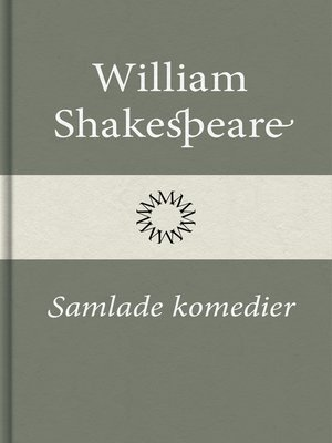 cover image of Samlade komedier
