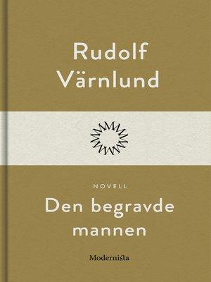 cover image of Den begravde mannen