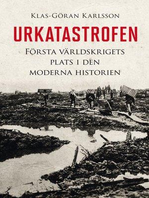 cover image of Urkatastrofen