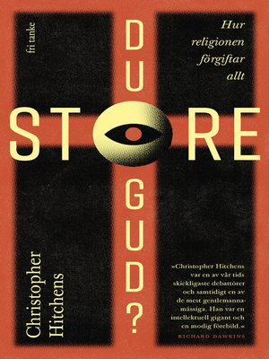 cover image of Du store gud?