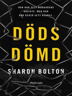 cover image of Dödsdömd