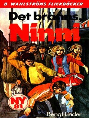 cover image of Ninni 5--Det bränns, Ninni