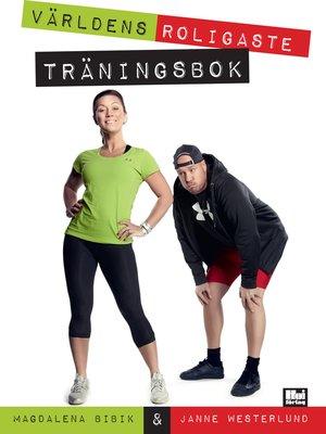 cover image of Världens roligaste träningsbok