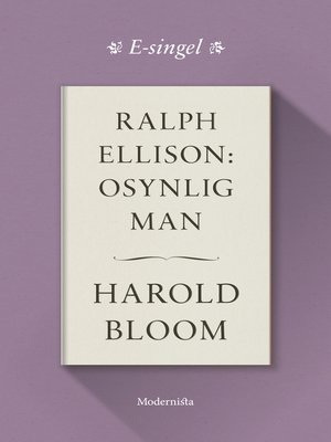 cover image of Ralph Ellison