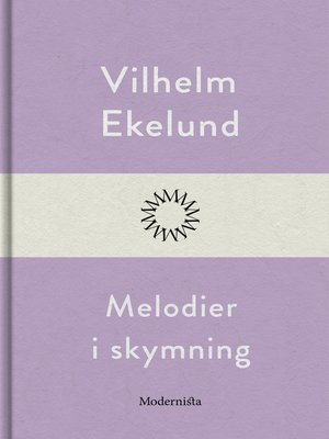 cover image of Melodier i skymning