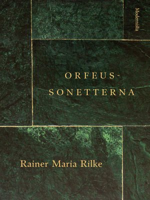 cover image of Orfeus-sonetterna