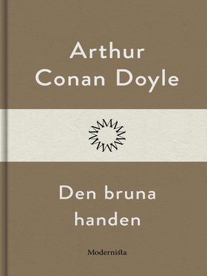 cover image of Den bruna handen