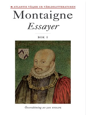 cover image of Essayer. Bok 1