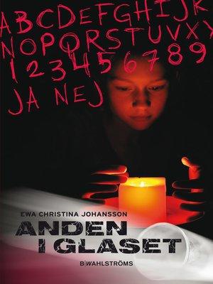 cover image of Anden i glaset