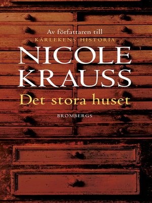 cover image of Det stora huset