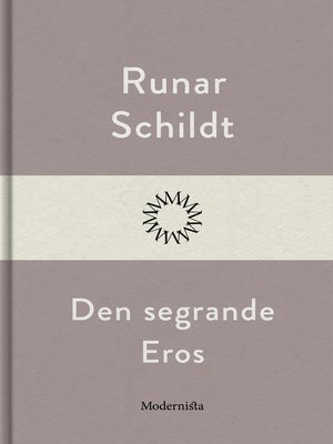 cover image of Den segrande Eros