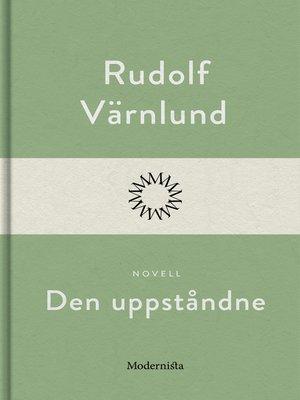 cover image of Den uppståndne