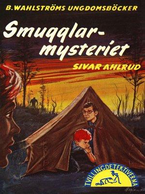 cover image of Tvillingdetektiverna 32--Smugglar-mysteriet