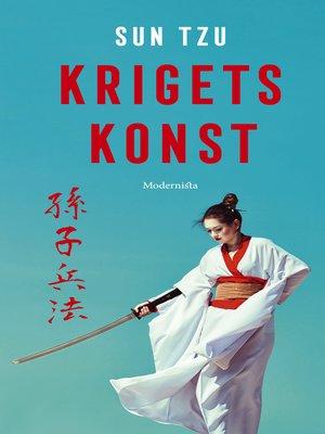 cover image of Krigets konst