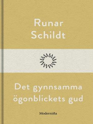 cover image of Det gynnsamma ögonblickets gud