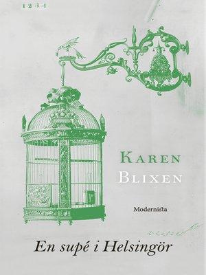 cover image of En supé i Helsingör