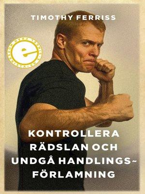cover image of Kontrollera rädslan och undgå handlingsförlamning
