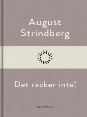 cover image of Det räcker inte!