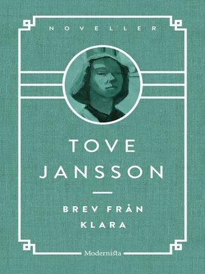 cover image of Brev från Klara och andra berättelser