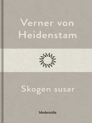 cover image of Skogen susar
