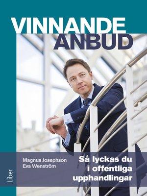 cover image of Vinnande anbud