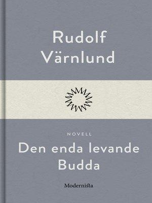cover image of Den enda levande Budda