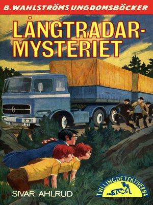 cover image of Tvillingdetektiverna 41--Långtradar-mysteriet