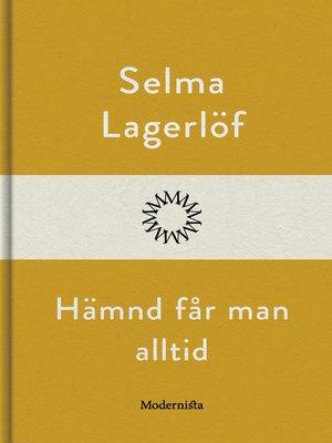 cover image of Hämnd får man alltid