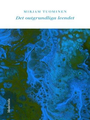 cover image of Det outgrundliga leendet
