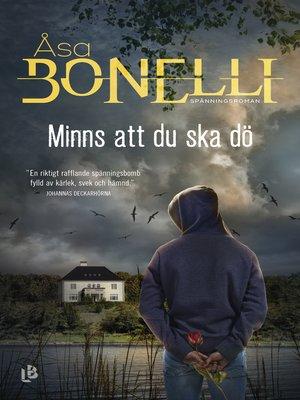 cover image of Minns att du ska dö