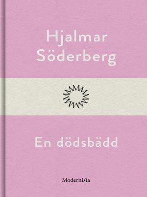 cover image of En dödsbädd