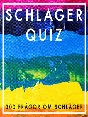 cover image of SCHLAGERQUIZ