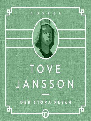 cover image of Den stora resan