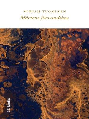 cover image of Mårtens förvandling