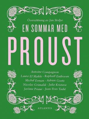cover image of En sommar med Proust