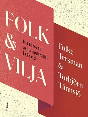 cover image of Folk & Vilja