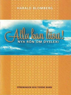 cover image of Alla kan läsa