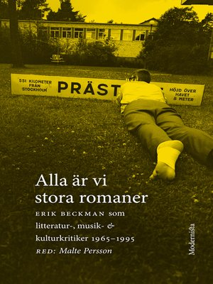 cover image of Alla är vi stora romaner