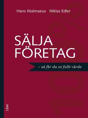 cover image of Sälja företag