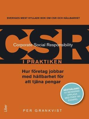 cover image of CSR i praktiken