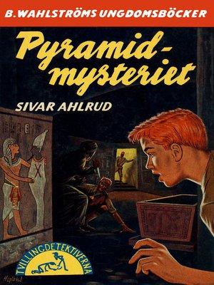 cover image of Tvillingdetektiverna 19--Pyramid-mysteriet