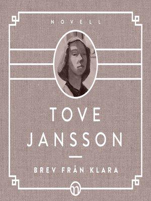 cover image of Brev från Klara