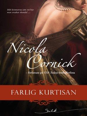 cover image of Farlig kurtisan