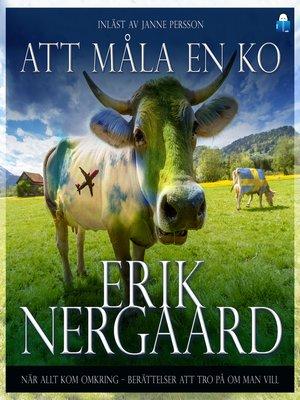 cover image of Att måla en ko