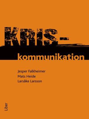 cover image of Kriskommunikation