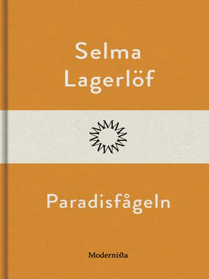 cover image of Paradisfågeln