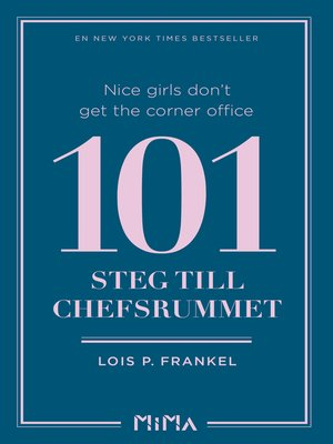 cover image of Nice girls don´t get the corner office