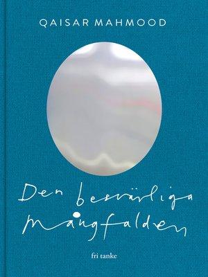 cover image of Den besvärliga mångfalden